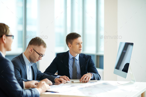 Male colleagues - Stock Photo - Images