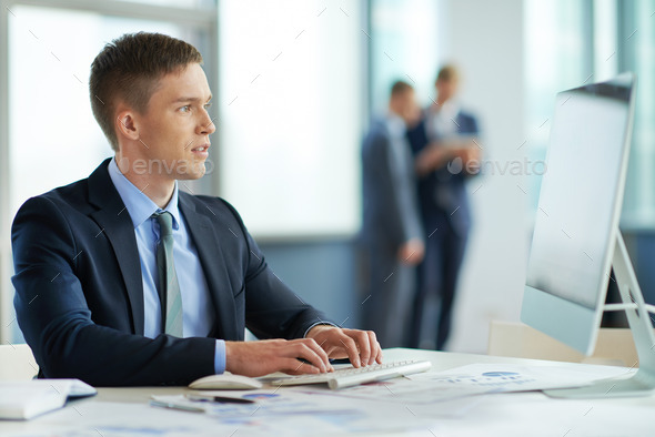 Working manager - Stock Photo - Images