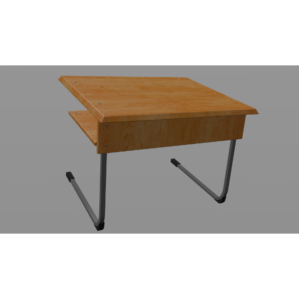 School desk - 3DOcean Item for Sale