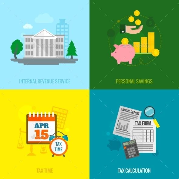 Tax Flat Set - Concepts Business