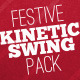 Festive Kinetic Swing Pack - VideoHive Item for Sale