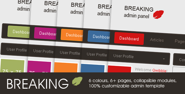 Free Download Breaking Admin Panel Nulled Latest Version