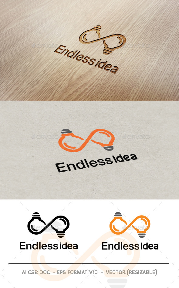 Endless Idea logo  - Symbols Logo Templates