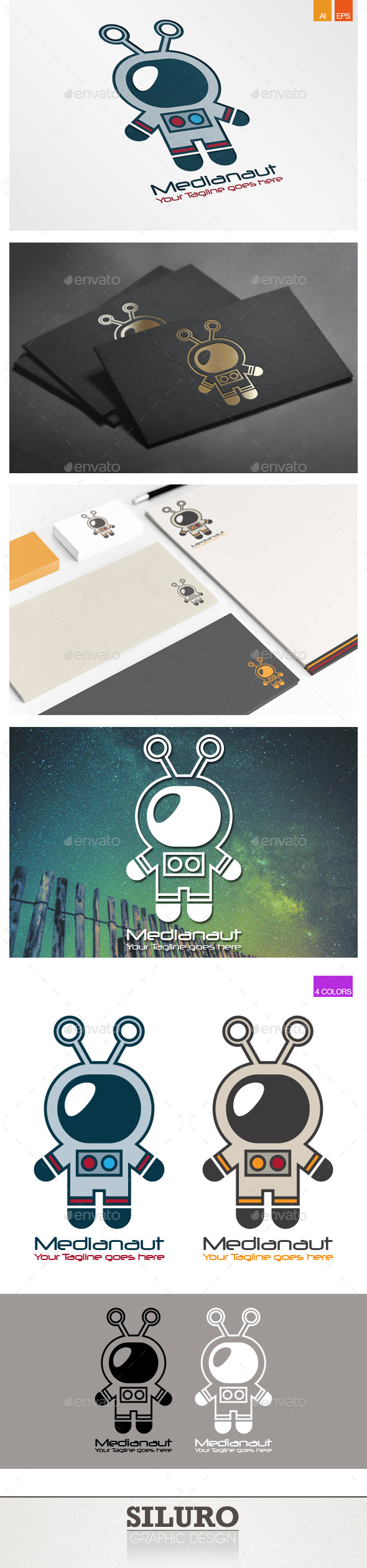 Medianaut Logo - Humans Logo Templates