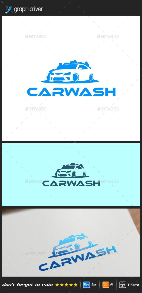 Car Wash Logo Templates - Objects Logo Templates