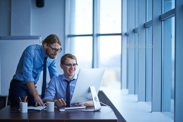 Working at project - Stock Photo - Images