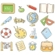 School Objects - GraphicRiver Item for Sale