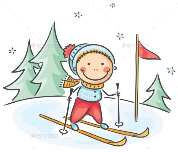 Winter Activities  - Sports/Activity Conceptual