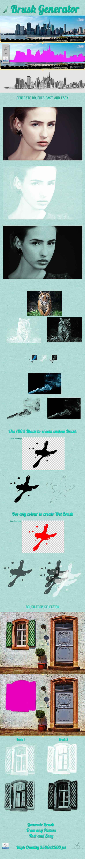 Brush Generator - Brushes Photoshop