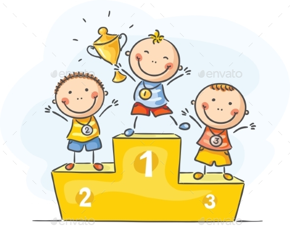 Kids and sport - little champions - Sports/Activity Conceptual
