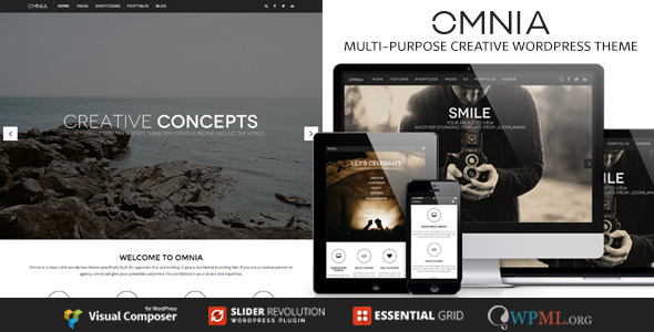 OMNIA – Multipurpose, Creative WordPress Theme