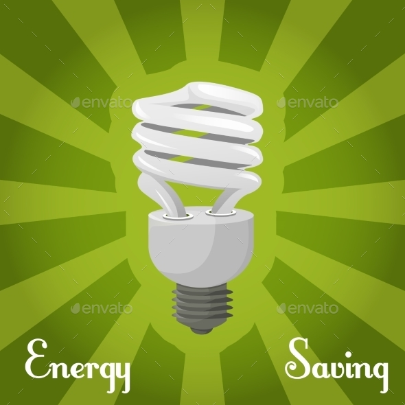 Concept Energy Saving Llamp - Technology Conceptual