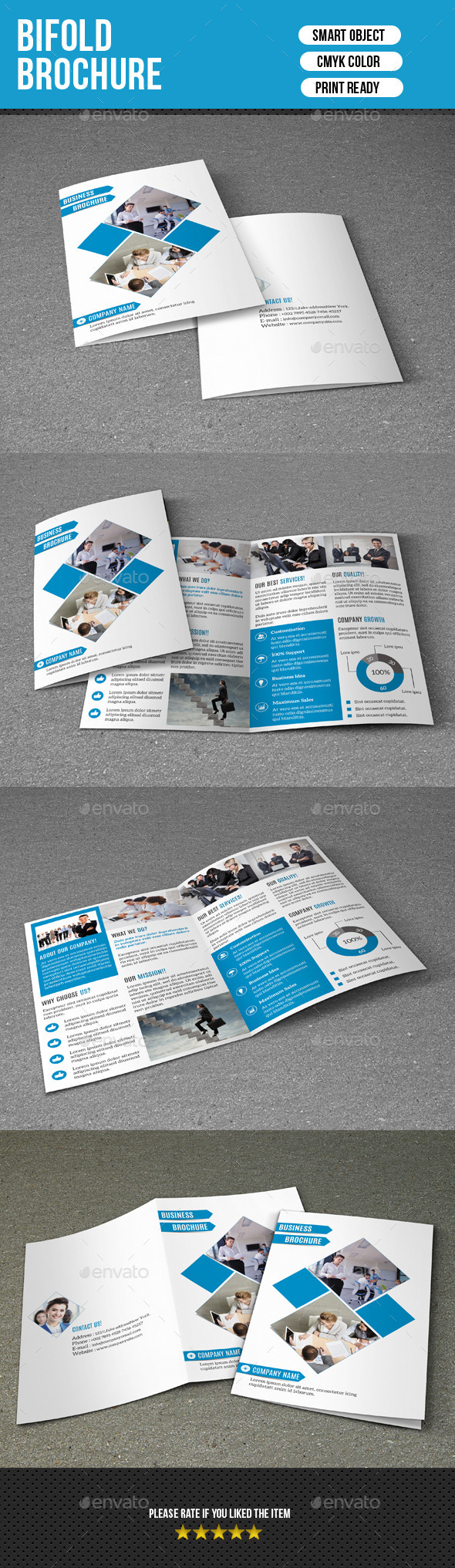 Bifold Business Brochure-V164 - Corporate Brochures