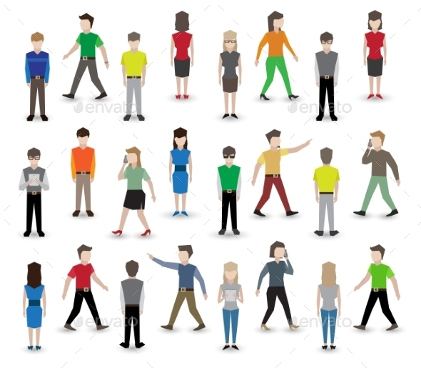 People Pixel Avatars - People Characters