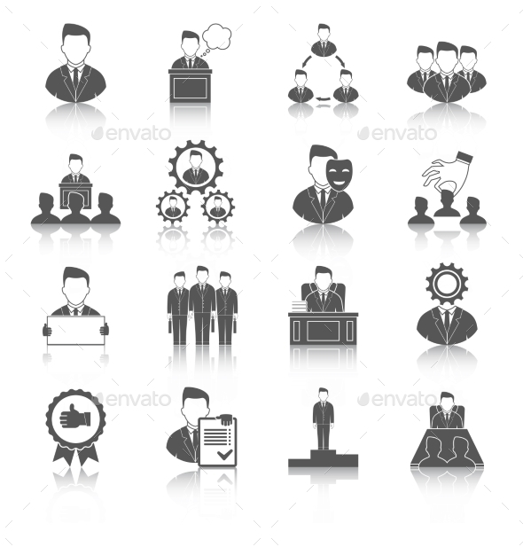 Executive Icons - Business Conceptual