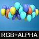 Floating Balloons Pack - VideoHive Item for Sale