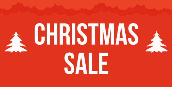 Christmas Sale Muse Template