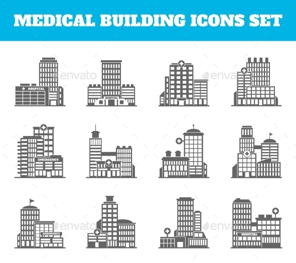 Medical Building - Buildings Objects