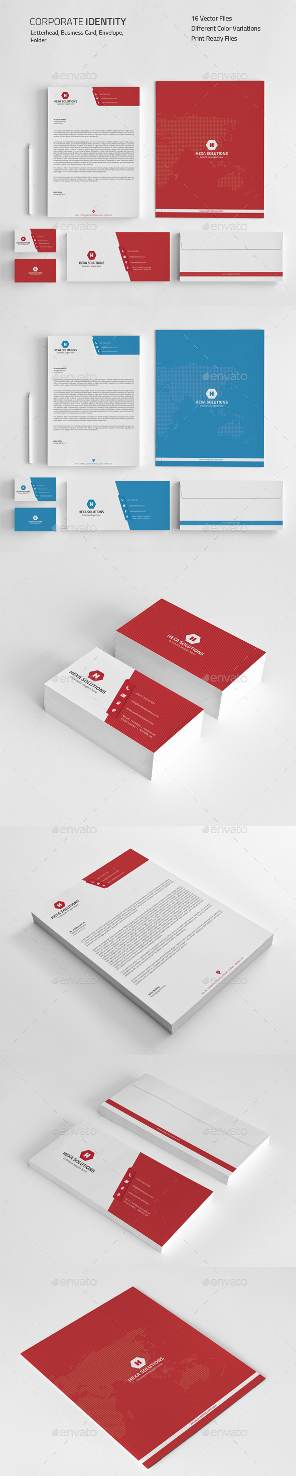 Corporate Identity 03 - Stationery Print Templates