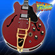Gibson ES-345 Guitar - 3DOcean Item for Sale
