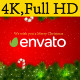 Santa Sleigh Logo - VideoHive Item for Sale