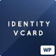 Identity - Personal vCard CV Portfolio WP Theme - ThemeForest Item for Sale