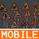 MOBILE TRAFFIC SIGNS - 3DOcean Item for Sale