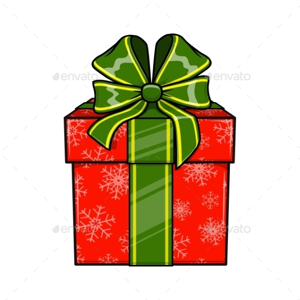 Christmas and New Year Decorative Present - Christmas Seasons/Holidays