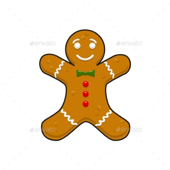 Christmas Decorative Gingerbread Cookieman - Christmas Seasons/Holidays