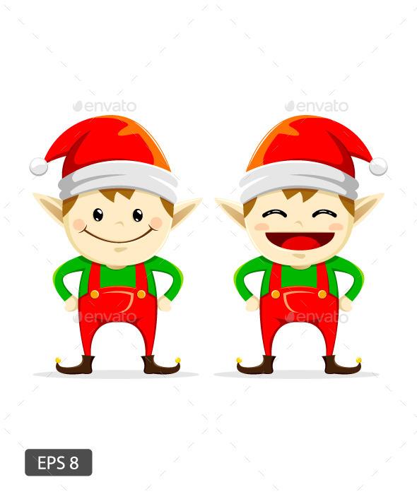 Twin Christmas Elf - Christmas Seasons/Holidays