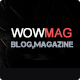 WowMag - Blog / Magazine / News Drupal Theme Nulled
