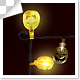 Halloween Lighting Bulbs Frame - VideoHive Item for Sale