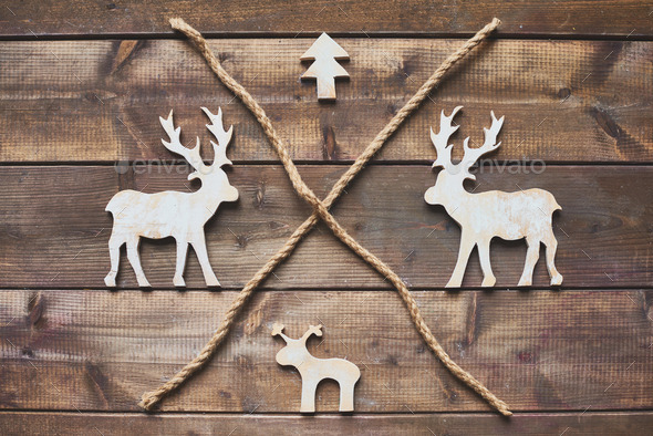 Wooden symbols - Stock Photo - Images