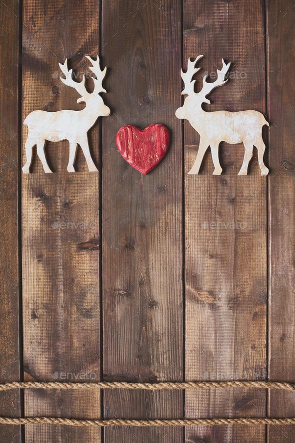 Deer love - Stock Photo - Images