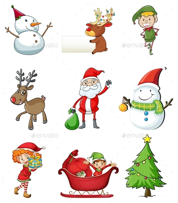 Christmas Symbols - Christmas Seasons/Holidays