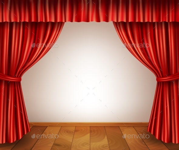 Theater Stage Background - Backgrounds Decorative