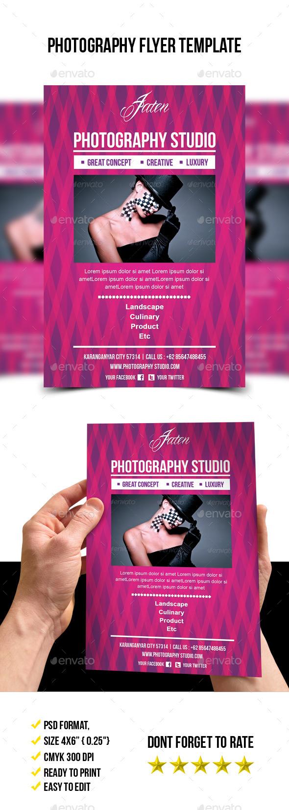 Photography Studio Flyer - Corporate Flyers
