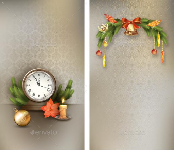 Christmas Vintage Banners - Christmas Seasons/Holidays