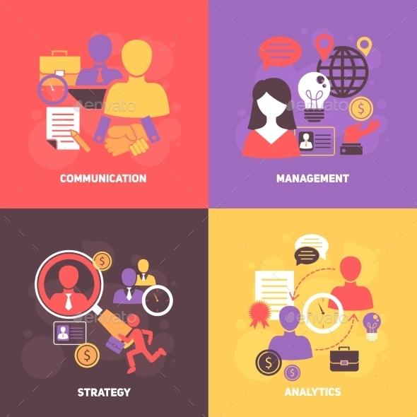 Job Interview Set - Concepts Business