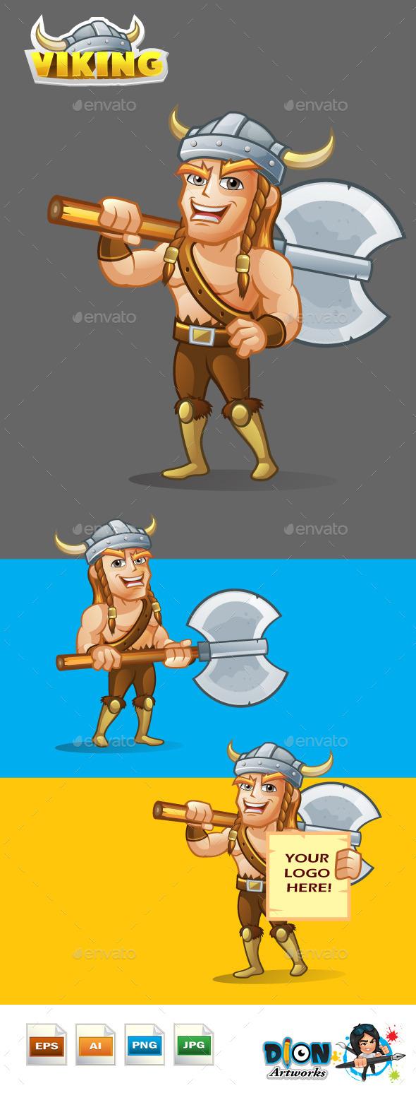 Viking - Characters Vectors