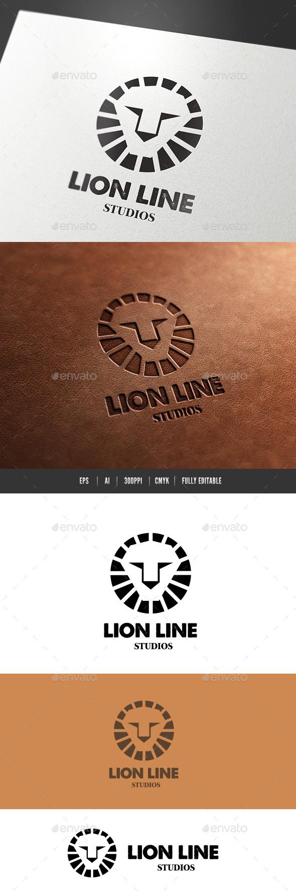 Lion Line - Crests Logo Templates