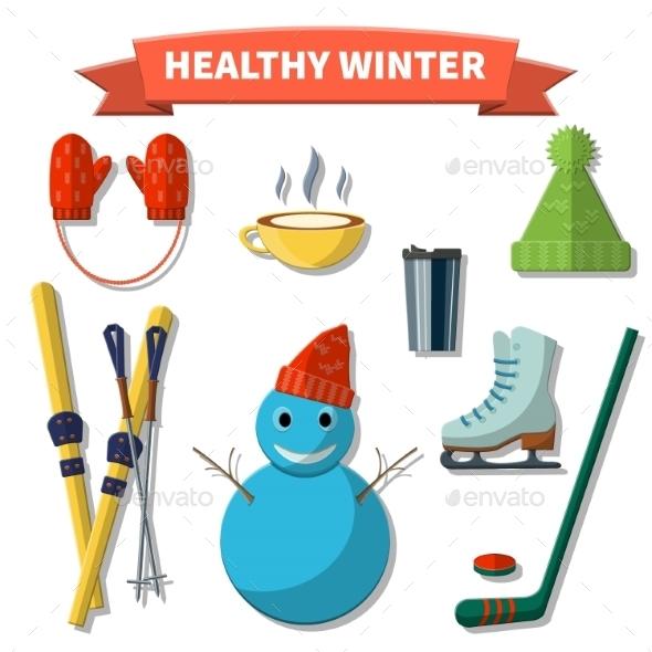 Healthy Winter - Travel Conceptual