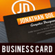 Contrast Orange Business Card - GraphicRiver Item for Sale