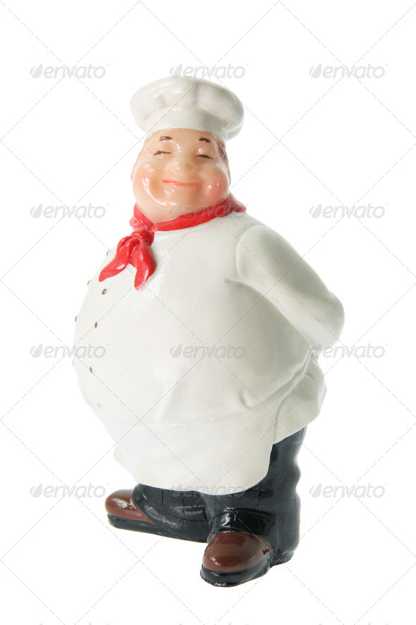 Chef Figurine - Stock Photo - Images