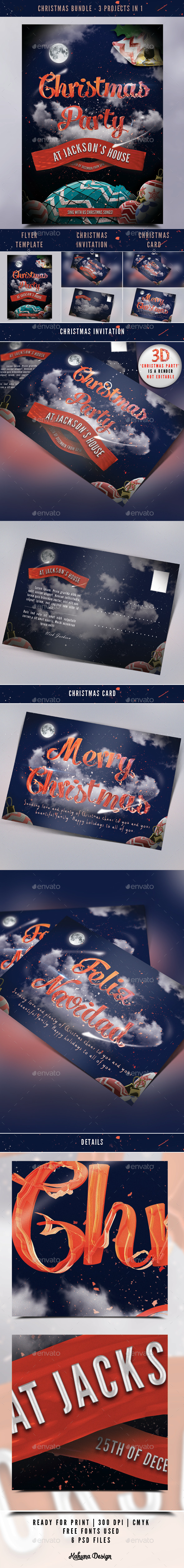 Christmas Bundle - Holiday Greeting Cards