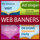 Web Banner KIT - Innovative Banner Ideas - GraphicRiver Item for Sale