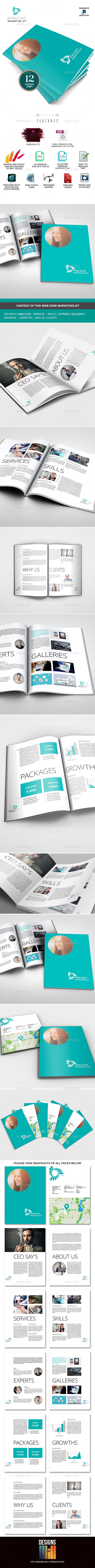 Marketing Document for Multipurpose Use - Miscellaneous Print Templates