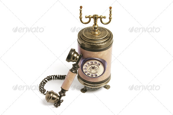 Vintage Phone - Stock Photo - Images