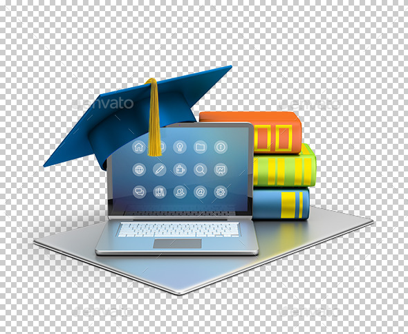 Computer Education - Technology 3D Renders