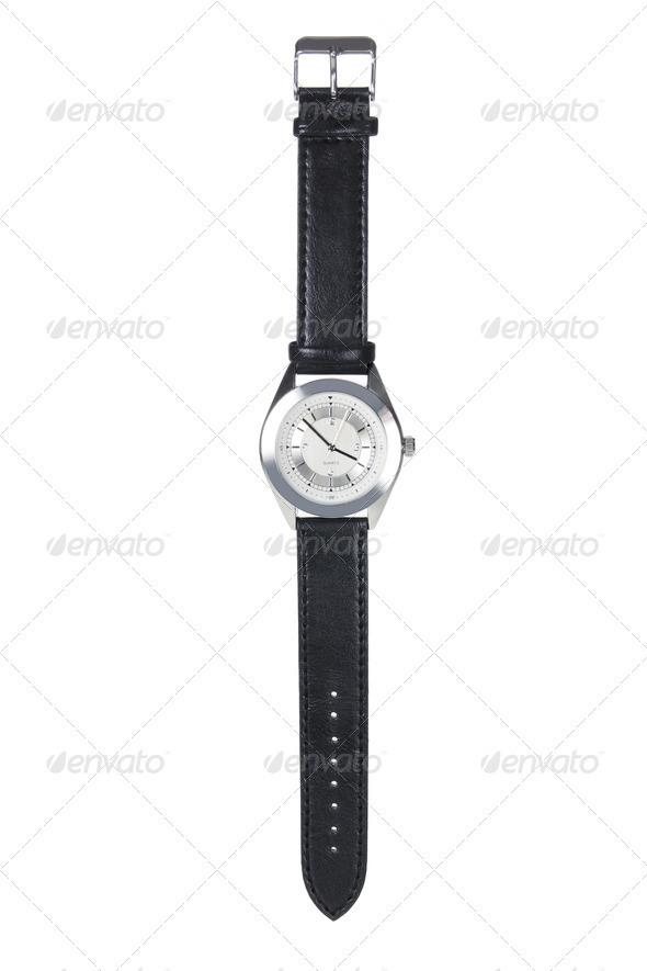Men's Watch - Stock Photo - Images